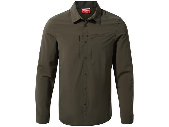 Craghoppers NosiLife Pro Long Sleeved Shirt Men woodland green